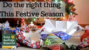 Do the right thing This Festive Season
