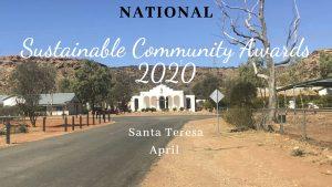 National Sustainable Community Awards 2020