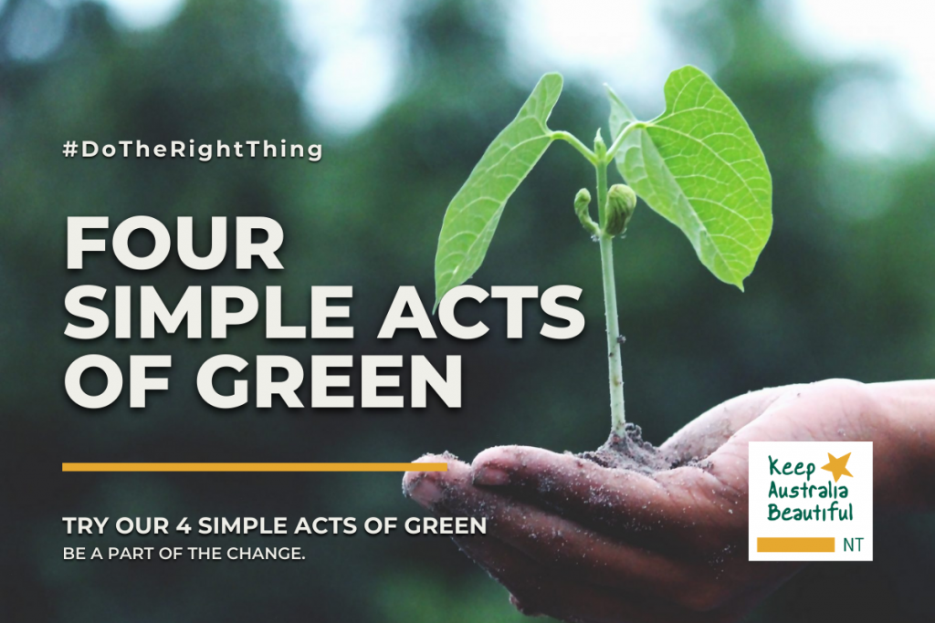 4 simple acts of green