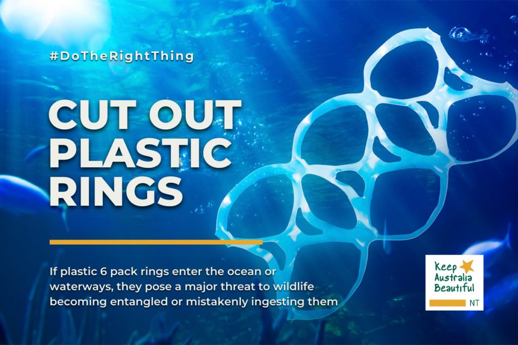 Cut Out The Plastic Rings
